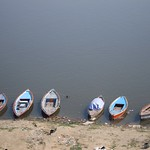 "Boats on Ganges <a style=""margin-left:10px; font-size:0.8em;"" href=""http://www.flickr.com/photos/14315427@N00/6880371737/"" target=""_blank"">@flickr</a>"