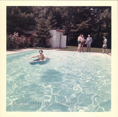 The Pool (mizaliza) Tags: summer water pool swimmingpool nostalgia etsy float bathingsuit bathers photovintage photoantique etsydelphiniumsbluedelphiniumsbluefound