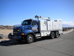 2008 Sterling Breakdown Truck (wastemanagementdude) Tags: city trash truck albuquerque breakdown sterling