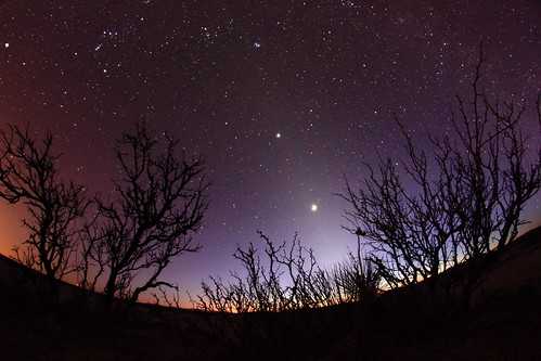 Venus and Jupiter in Upham, NM