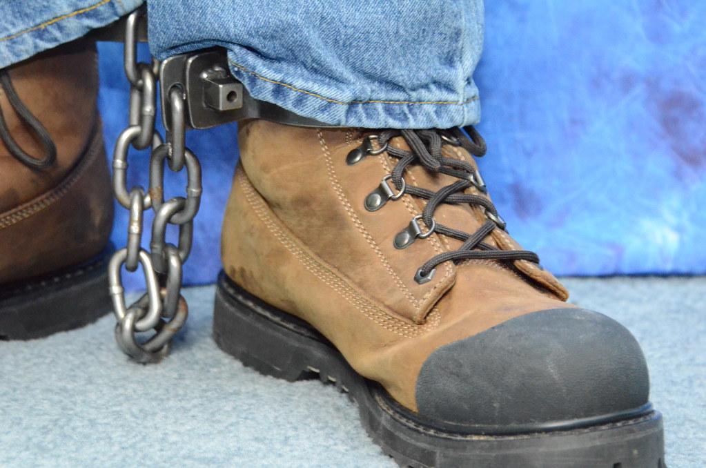 work boot bondage