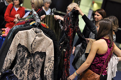 Fabulous Felted Coats (Creativ Festival) Tags: toronto ontario guests diy create mississauga learn crafting lessons workshops exhibitors showfloor internationalcentre creativfestival