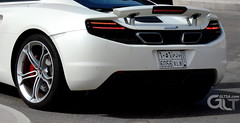 Mclaren MP4-12C exterior back (@GLTSA Over a million views) Tags: mclaren mp412c white car cars photo photos auto autos image images rim rims interior exterior photography nikon canon iphone jeddah saudi saudiarabia