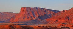 Early Morning Color on Landscape (HeilanSodger) Tags: utah redrock canyons fishertowers