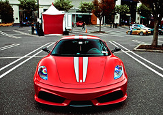 Scuderia (Andrew Cragin Photography) Tags: race rare rebel shutterspeedphotos italy italian italia interesting ferrari expensive explore explored extraordinary fast fastest exclusive european eos cool automobiles beautiful beauty best canon car cars automobile auto america 2011 200mph stable scuderia scud missle f430 rear mounted v8 naturually aspirated sound noise symphony red americana manhasset concours delegance two seater lambo lamborhgini lp640 murcie murcielago