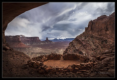 False Kiva - Canyonlands - UT *Explore* (Dominique Palombieri) Tags: usa cloud landscape ut secret canyonlands dominique utha np 2012 100iso 23mm canoneos5dmarkii 125secatf11 lensef1740mmf4lusm palombieri