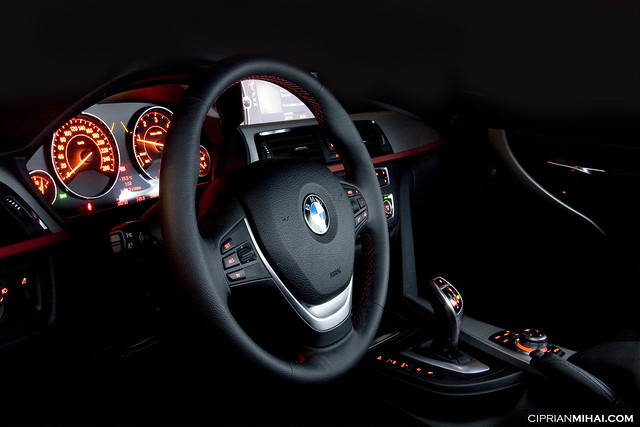 auto light 3 car night photography photo diesel interior automotive f30 bmw 320