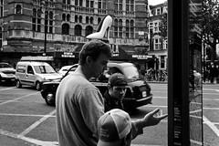 Stiletto (Mario Mitsis) Tags: street greatbritain england people urban blackandwhite bw london blancoynegro canon shoe candid streetphotography westend digitalphotography londonist londonstreetlife eos5d sauvette blancoenero dpsstranger stilettoshoeswhiteshoe