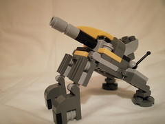 Artillery Mini-Mech Side (HammithATF) Tags: lego mini mecha mech legomecha legomech