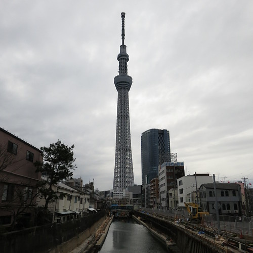 東京スカイツリー @ 十間橋