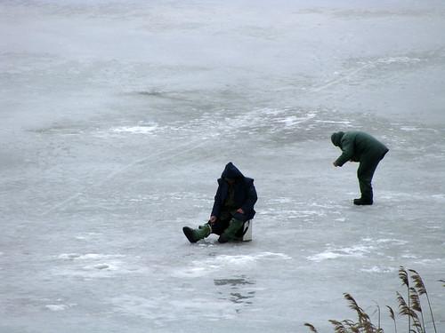 Зимняя рыбная ловля на Северном вдхр