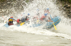 Big wave fun on the Sun Kosi river Adventure rafting and Kayaking trip