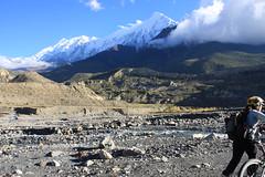 More great veiws on a Multi sport treking Mountain biking rafting kayaking trip in Nepal
