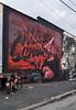 (Laser Burners) Tags: nyc newyorkcity never brooklyn graffiti murals moped gaia bushwick satisfied citynoise