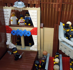 Ford's Theater, April 14, 1865 (.Bricko) Tags: history death lego lincoln abe assassination