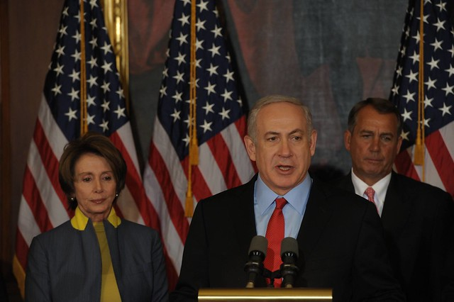 Meeting of PM NETANYAHU with House Speaker John Boehner at the Capitol in Washington, DC