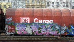 Graffiti in Kln/Cologne 2012 (kami68k []) Tags: train graffiti cologne kln illegal boris freight bombing ddb bunt 2012 dbcargo 80countrycode