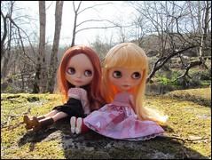 De paseo con Mila y Clémentine
