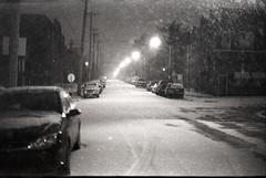 _img_2010_672 (sara97) Tags: winter blackandwhite bw snow film analog blackwhite missouri 35mmfilm nightscene saintlouis nikonf2 kodakp3200tmz winter2010 photobysaraannefinke dec2010