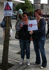 "Girls pledge support for-Equal Love-Plymouth 2011 • <a style=""font-size:0.8em;"" href=""https://www.flickr.com/photos/66700933@N06/6974132229/"" target=""_blank"">View on Flickr</a>"