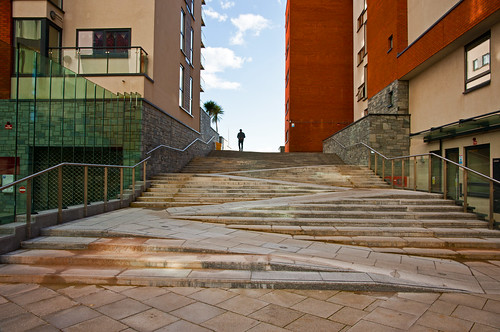 Swansea marina steps 18 March  2012