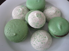 St. Paddy's Day at Choice (kmhinkle) Tags: cookies brooklyn march merengues stpatricksday 2012 macarons choicemarket
