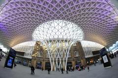 King's Cross Station (3) (McTumshie) Tags: london geotagged unitedkingdom fisheye kingscross gbr londonist samyang8mm ©andrewsmith2012 geo:lon=012456983 geo:lat=5153155068 asm9094