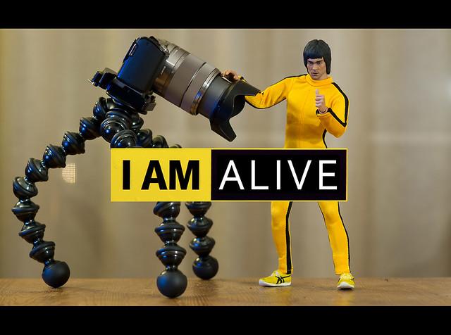 Bruce Lee is ...