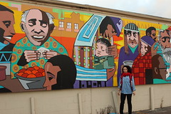 5th ave mural food bank (Jaleh Sadravi) Tags: columbus mural jaleh