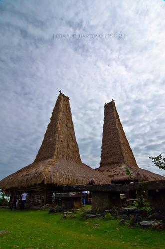 Traditional Sumbanese House - Ratenggaro Village
