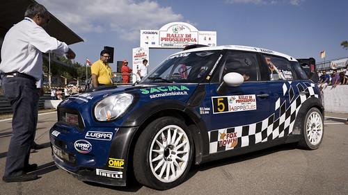 C. FONTANA e N. ARENA | MINI C.JWORKS WRC | 26° Rally Proserpina 2011