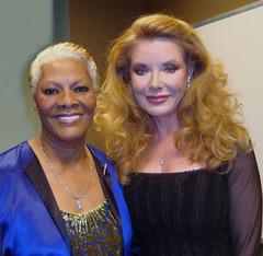 Rebecca with Dionne Warwick