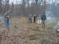 April 3 (Lake Forest College Daily Click) Tags: college nature students season spring burn controlledburn lakeforestcollege dailyclick environmentalstudies shootingstarsavannah