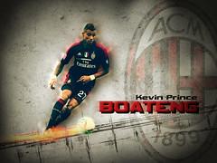Kevin Prince Boateng - AC Milan (CubanoDesign) Tags: wallpaper acmilan fondodeescritorio kevinprinceboateng milanwallpaper princeboatengwallpaper