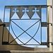 Cathedral Church of Saint Paul (1973) – iron gate detail