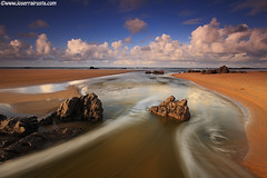 Flowing (Joserra Irusta) Tags: costa seascape beach clouds landscape rocks playa paisaje nubes marisma olas rocas cantabria coasta wawes noja joserrairusta playadetrengandin wwwjoserrairustacom wwwnorthphototourscom