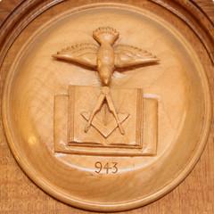 Masonic symbol (Leo Reynolds) Tags: canon eos 50mm symbol f45 7d squaredcircle iso1600 hpexif 0017sec xleol30x sqset105 xxx2014xxx