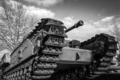 Churchill - Bayeux (Remy Carteret) Tags: blackandwhite bw france canon eos blackwhite tank noiretblanc wwii nb worldwarii overlord crocodile ww2 mk2 5d canon5d normandie neptune normandy liberation dday bayeux worldwar2 mkii markii mark2 jourj libration 3945 19391945 allis 661944 6644 dbarquement secondeguerremondiale 2eguerremondiale june44 batailledenormandie canoneos5dmarkii batailledefrance 5dmarkii canon5dmark2 juin44 oprationneptune 5dmark2 canon5dmarkii canoneos5dmark2 remycarteret rmycarteret neptuneopration charchurchill