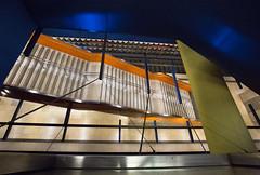 Stairs (Pamela Marklew) Tags: stairs underground subway munich mnchen ubahn olympiaeinkaufszentrum
