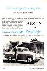 1958 Austin A55 Cambridge British Motor Company  BMC Page 2 Aussie Original Magazine Advertisement (Darren Marlow) Tags: 1 5 8 9 19 58 1958 a austin c cambridge s sedan car cool collectible collectors classic automobile v vehicle e england english britain 50s