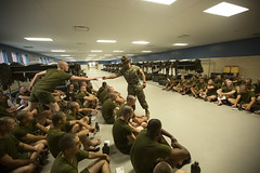 Lima Company  Evening Routine  April 27-28, 2016 (MCRD Parris Island, SC) Tags: sc usmc unitedstates graduation pi di marines bootcamp grad pisc marinecorps drill err recruit basictraining parris recruiter parrisisland mcrd recruittraining drillinstructor recruitdepot mcrdpi easternrecruitregion