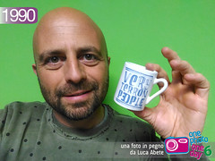 Foto in Pegno n 1990 (Luca Abete ONEphotoONEday) Tags: people cup campania very mug napoli 12 ironic caff tazzina 1990 maggio selfie tazza 2016 ironia terron