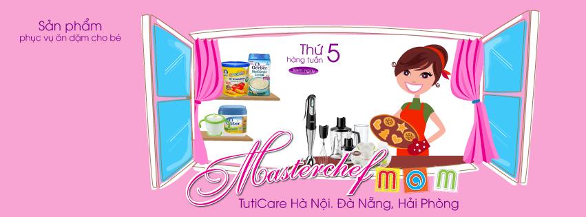 [MasterChef Mom thứ 5 hàng tuần] Ưu đãi sản phục vụ ăn dặm cho bé áp dụng toàn quốc