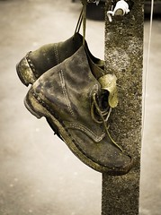 Old Working Clogs (vesna1962) Tags: old detail closeup vintage wooden shoes victorian clogs