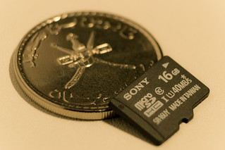 Our MEMORIES are smaller than a coin !!