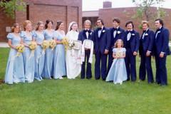 1976-06-19 Paul & Raisa Seliske wedding 1A (JoeSeliske) Tags: wedding ontario london church june st john paul catholic roman divine 19 rc 1976 raisa seliske