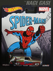 Spider-Man '64 Chevy Nova Delivery (theRaceCase) Tags: cars toys hotwheels collectible matchbox diecast johnnylightning