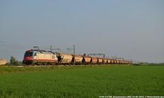 E190 313 (MattiaDeambrogio) Tags: train siemens trains taurus treno treni e190 borgolavezzaro fuorimuro es64u4 inrail