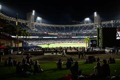 Petco Park at Night - San Diego CA (mbell1975) Tags: california park ca usa field night america major us san unitedstates sandiego baseball stadium diego calif arena cal american league petco mlb majorleague