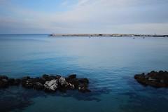 (marirenaa) Tags: city travel blue sea sky italy nature outdoors europe italia explore traveling meditteranean otrando